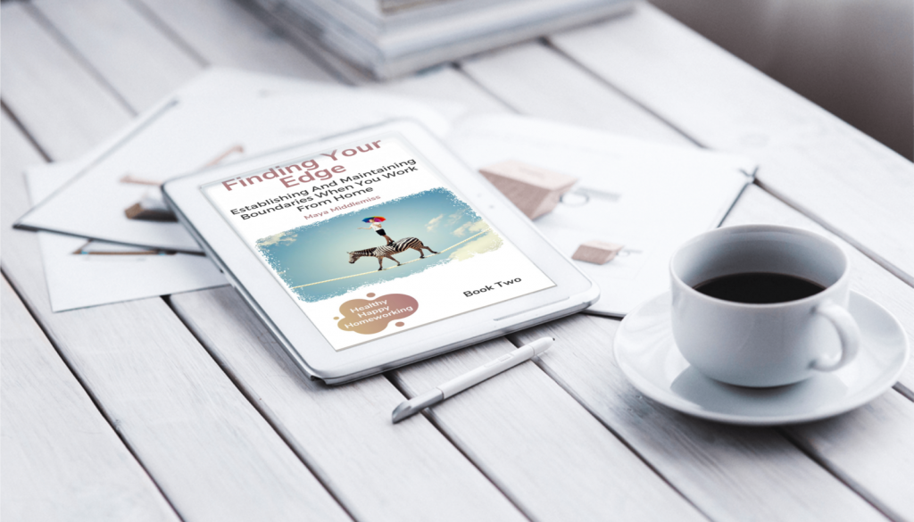 finding your edge ebook with coffee